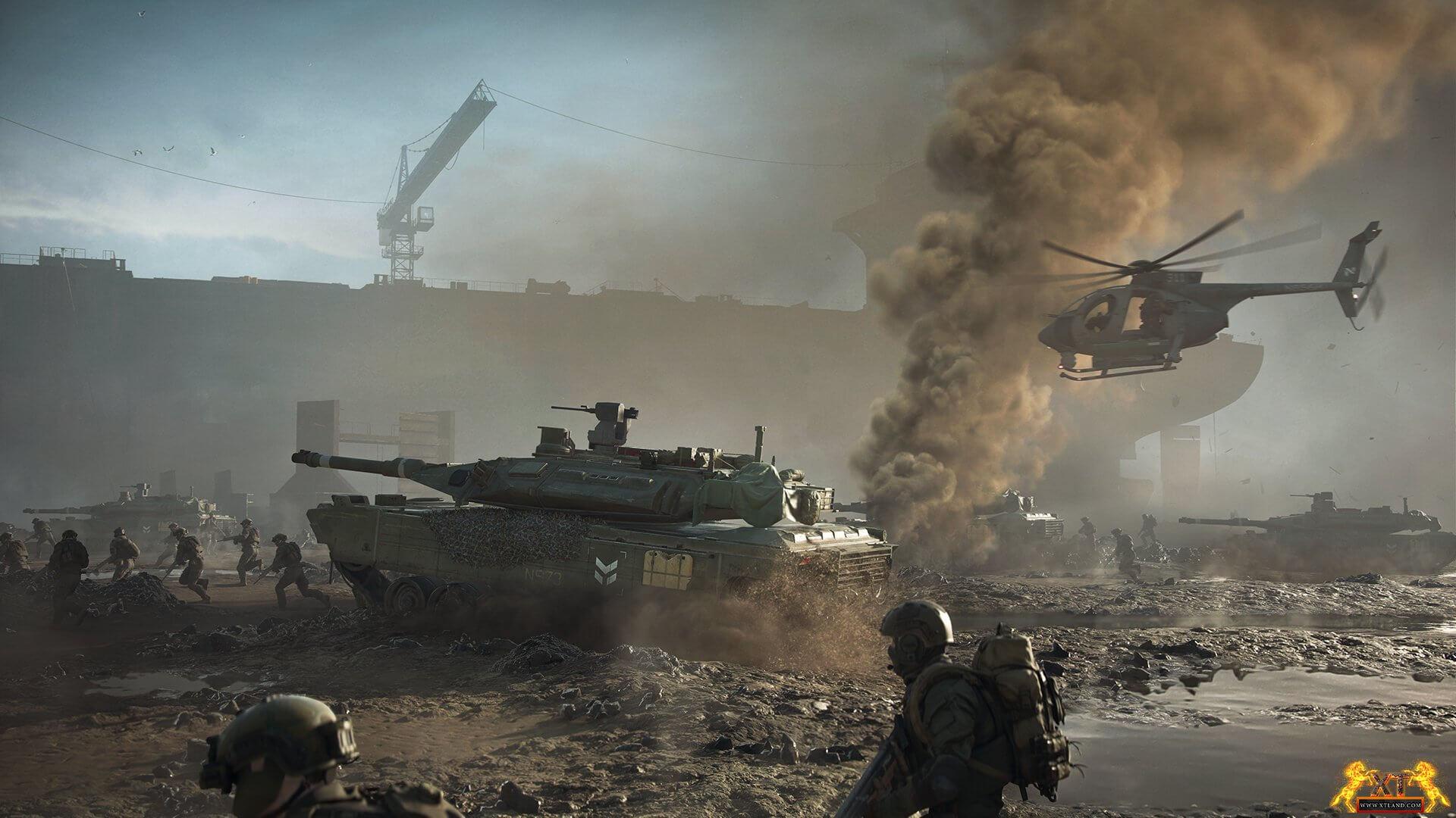 بازی Battlefield 2042 یک مد اعلام نشده دارد که توسط DICE LA  ساخته شده است و در EA Play live آز آن رونمایی خواهد شد!