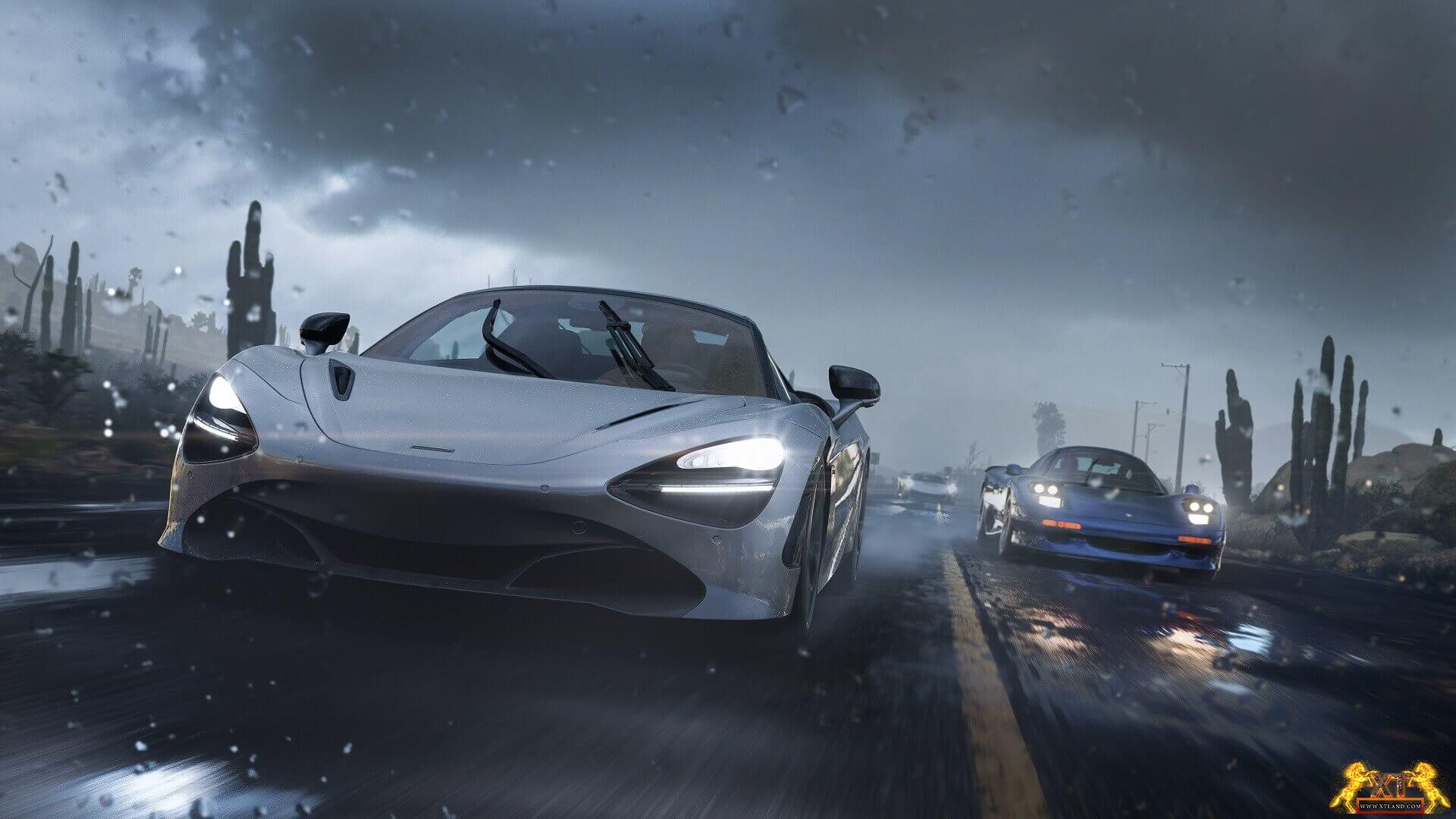 تصاویری از بازی Forza Horizon 5 منتشر شد!